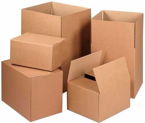 Caixa de papelão ondulado para arquivo
