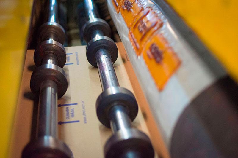 Fabrica de embalagens de papelão ondulado